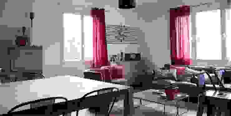salle de séjour par Soraya Deffar / Un Pretexte Moderne