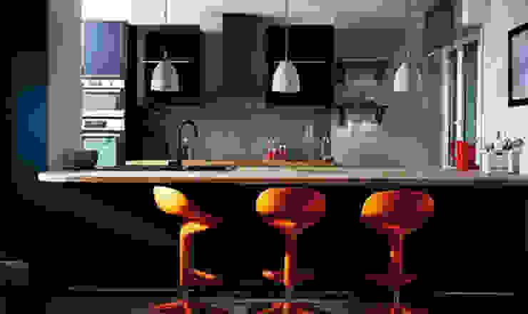Cuisine Américaine Design par Soraya Deffar / Un Pretexte Moderne