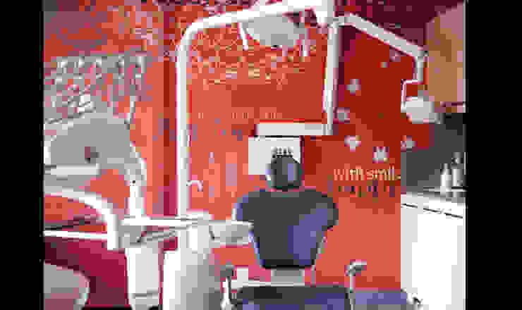 Cabinet dentaire Cliniques modernes par Soraya Deffar / Un Pretexte Moderne
