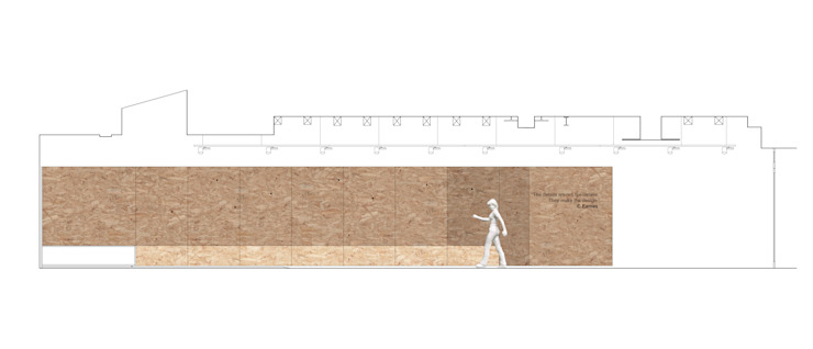 sezione Spazi commerciali in stile scandinavo di Bruno Detassis Scandinavo