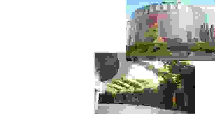 Green walls Modern garden by Viridian Landscape Studio Modern