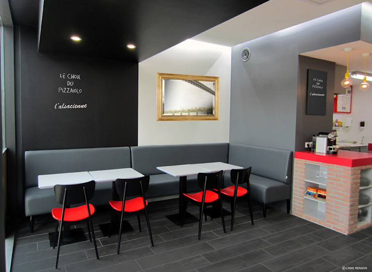RESTAURANT ITALIEN Gastronomie moderne par Linxe-renson.com Moderne