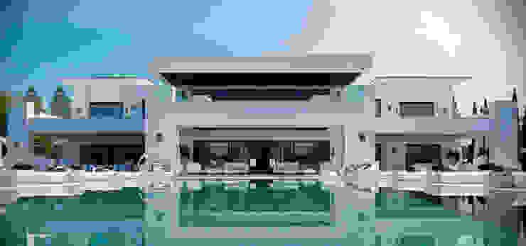 modern  oleh Ark Arquitectos, Modern