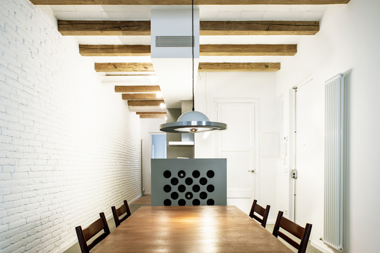 M2ARQUITECTURA Modern Dining Room