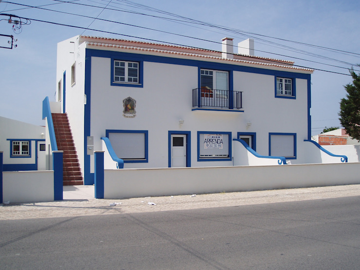 Fachada Lateral-Ppal (Despues) de a2g.arquitectura