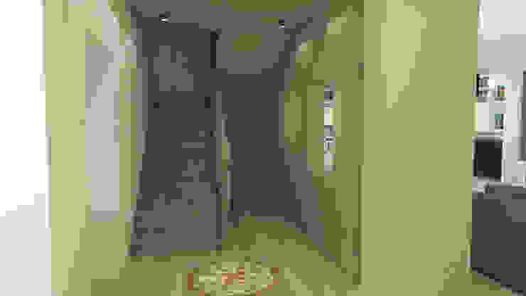 Rénovation d'une pièce de vie à Nantes Salon moderne par Lignes & Idées Moderne
