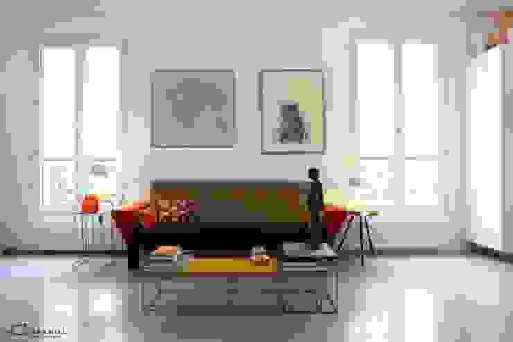 Salon Maisons modernes par Galaktik Moderne