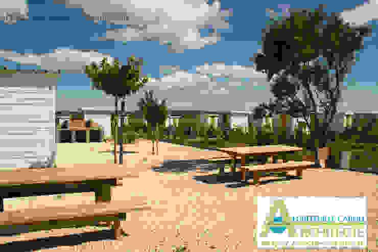 Les jardins familliaux de Pignan Jardin méditerranéen par Architecte Egrefeuille Carole Méditerranéen
