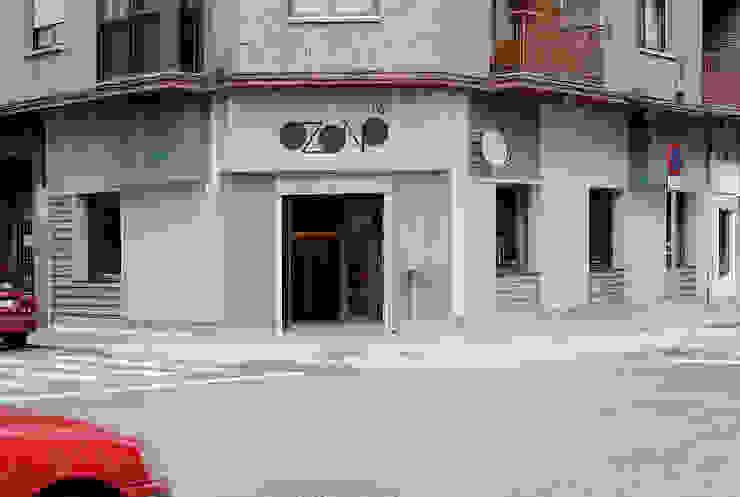 fachada Gastronomía de estilo industrial de interior03 Industrial