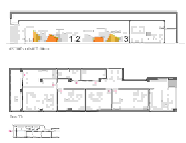 Alzado interior y planta Clínicas de estilo escandinavo de interior03 Escandinavo
