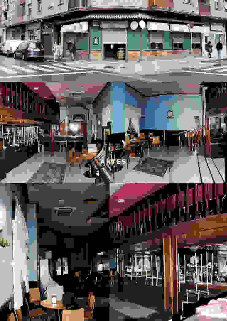 estado previo Gastronomía de estilo industrial de interior03 Industrial