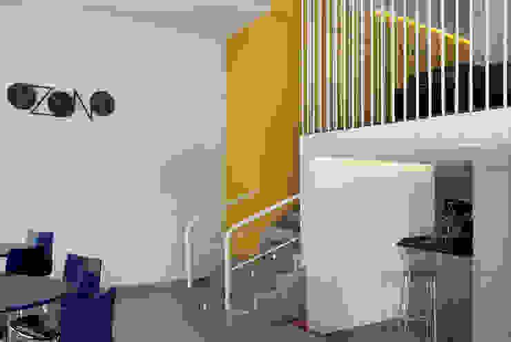vista general interior Gastronomía de estilo industrial de interior03 Industrial