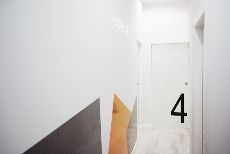 Pasillo Clínicas de estilo escandinavo de interior03 Escandinavo