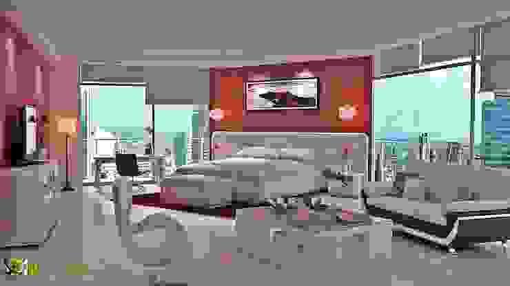 3D Maestro interiore Bed Room Design Studio di 3D Yantram studio di animazione