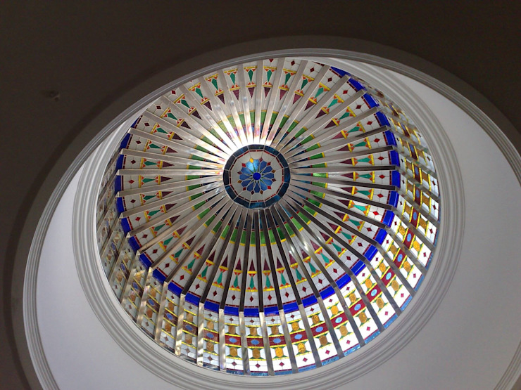 Stained Glass Domes Glasstec ArtObjets d'art