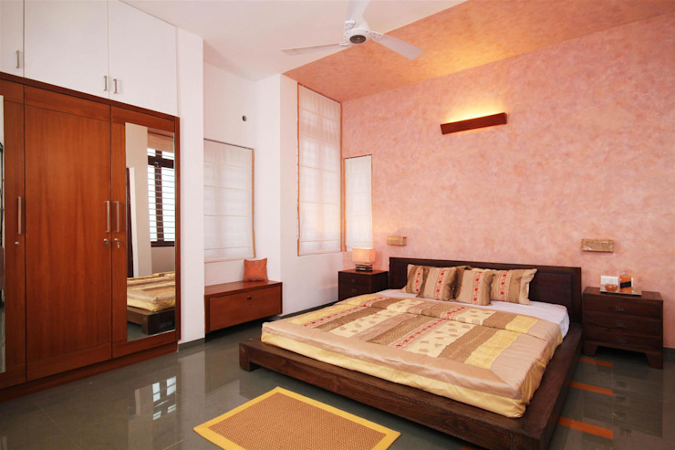 Residence for the Unknown Client Modern style bedroom by LIJO.RENY.architects Modern