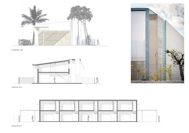 Case per vacanza - Campomarino Lido(CB) Case di Fernando A.Baldassarre architetto