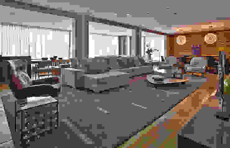 LA3 Casas modernas por David Guerra Arquitetura e Interiores Moderno