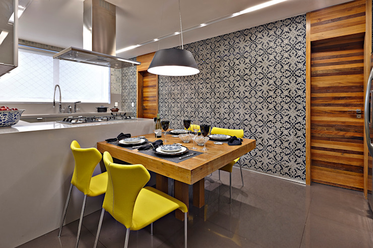 LA1 Casas modernas por David Guerra Arquitetura e Interiores Moderno