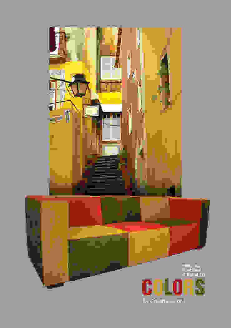 Colors by Creative-Cork por Creative-cork Moderno