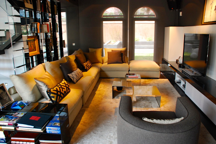 MUSA Salones de estilo moderno de MILLENIUM ARCHITECTURE Moderno