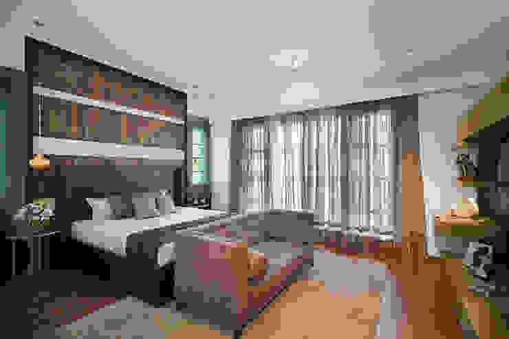 Prestige Silver Springs, Chennai Modern style bedroom by Morph Design Company Modern