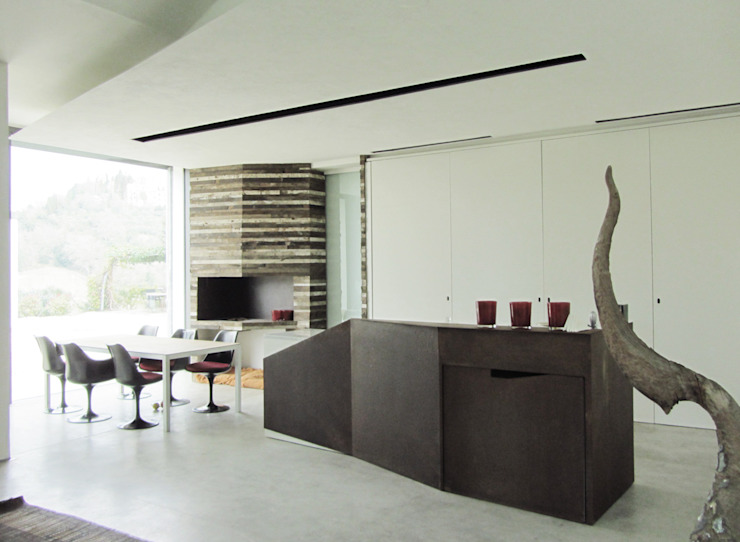 HANG#J Cucina in stile industriale di Margarete (Architetti Anselmi S. e Crucianelli E.) Industrial