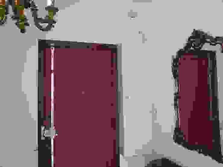 PINTURA EN RECIBIDOR Pasillos, vestíbulos y escaleras de estilo colonial de Masquepintura Colonial
