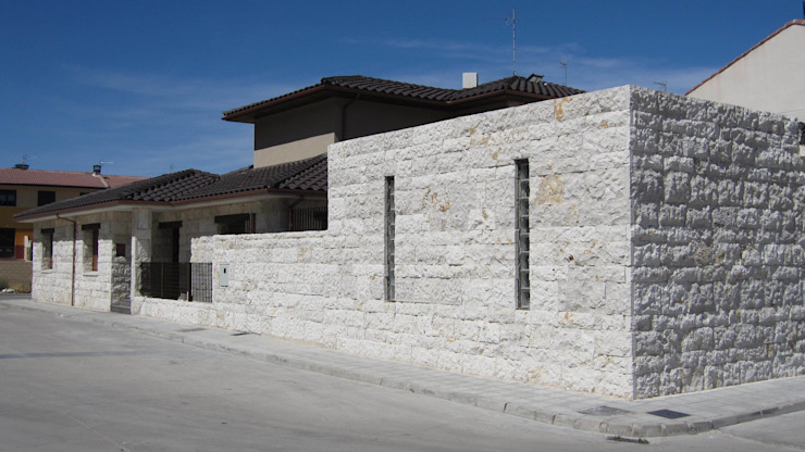 Fachada exterior de Sac - Arquitectura
