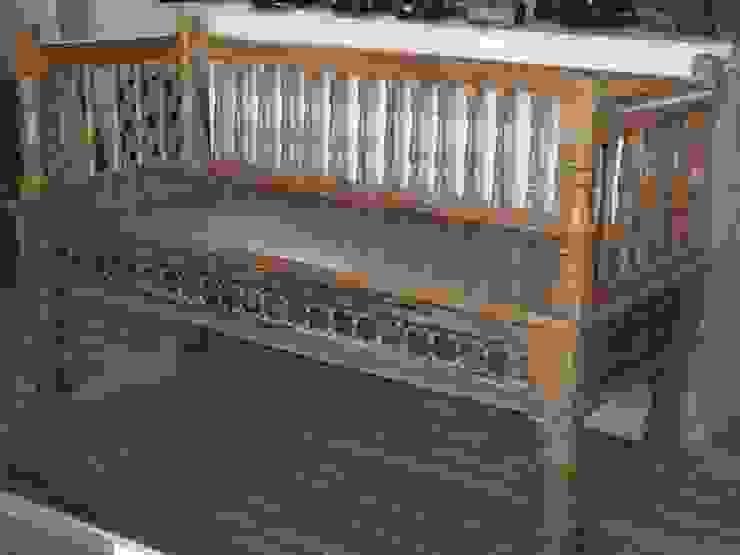 Banco de madera de teca de Salablanca furniture and Decoration