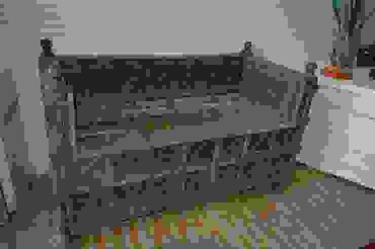 Banco antiguo de madera de teca de Salablanca furniture and Decoration