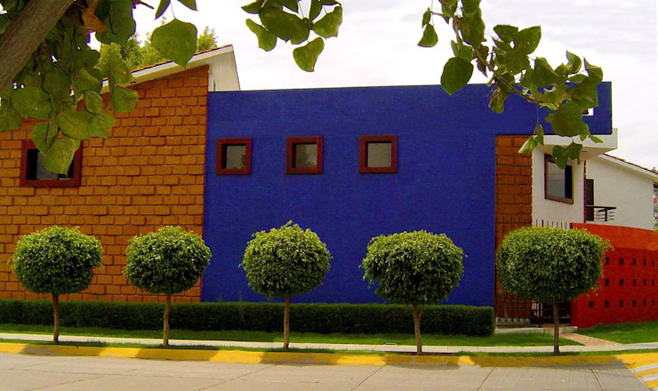 Casa Arboledas:  de estilo  por CESAR MONCADA S, Rústico
