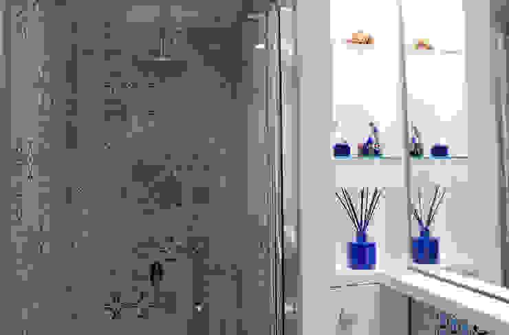 Baño suite. Eséncia mediterranea Baños de estilo mediterráneo de lauraStrada Interiors Mediterráneo