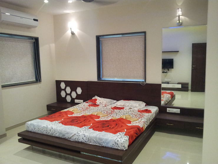 My Complited Project Modern style bedroom by one3designer_2005 Modern
