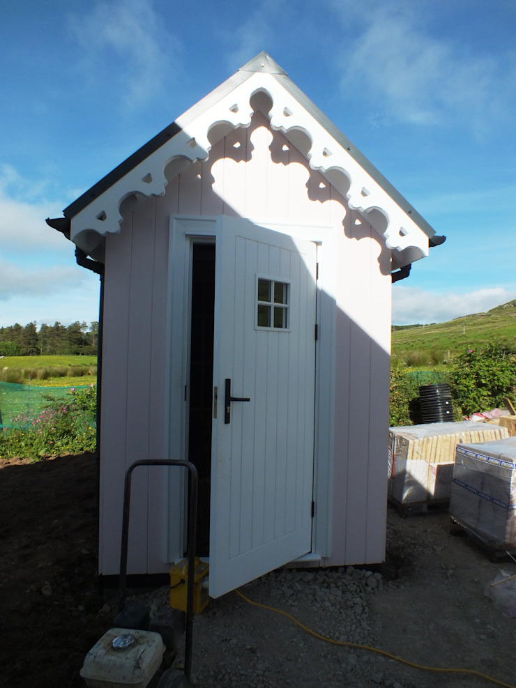 Two Bedroom Wee House Shed by The Wee House Company