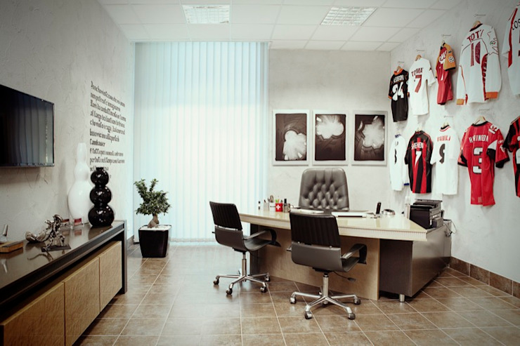 Arts&Works in Office Cliniche in stile minimalista di Studio Cappellanti Minimalista