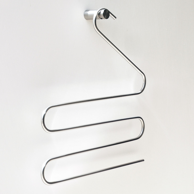 FRAME, coat hangers collection por Insilvis Divergent Thinking Minimalista