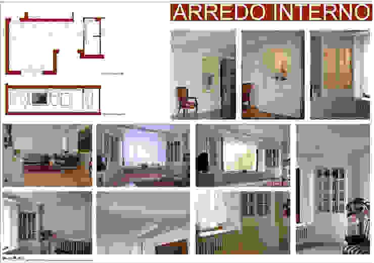 ARREDO INTERNO Soggiorno di Studio di Progettazione e Grafica Giorgio Da Villa