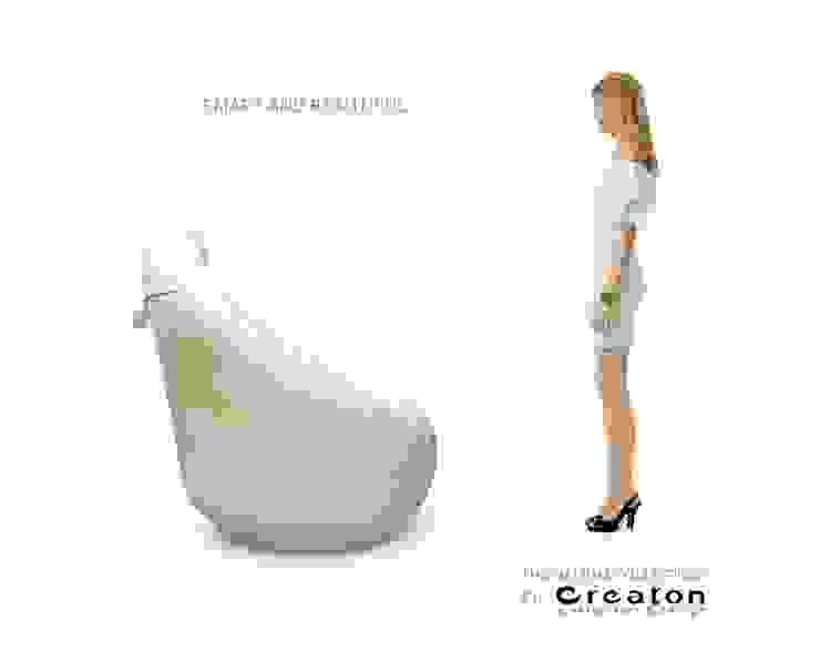 HELIUM armchair - COMFORT AND STYLE: modern  von CREATON design,Modern