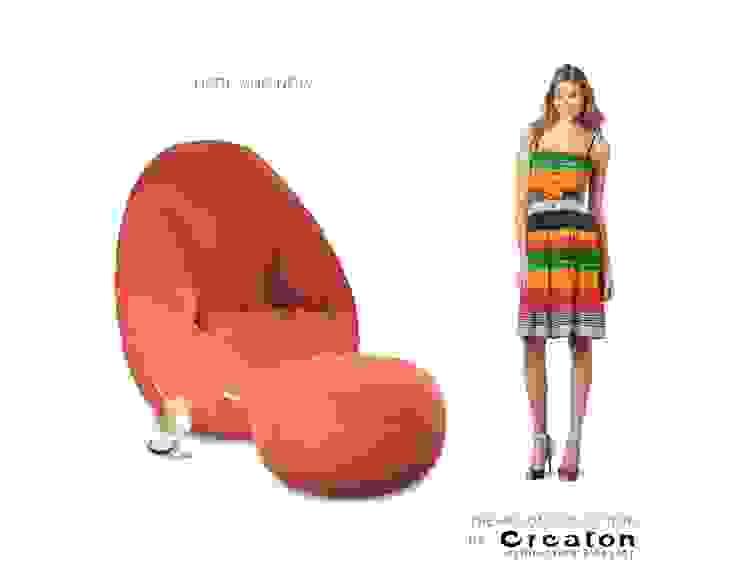 HELIUM armchair – COMFORT AND STYLE: modern  von CREATON design,Modern