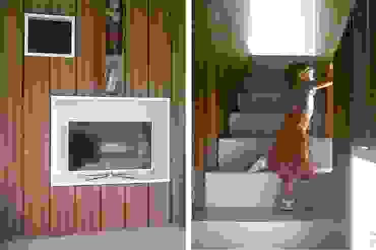 Casa BT.BM Ingresso, Corridoio & Scale in stile moderno di Angeli - Brucoli Architetti Moderno