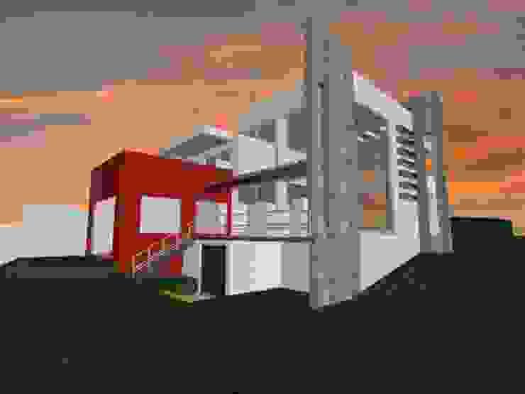 casa Espiritu Santo Casas minimalistas de CESAR MONCADA S Minimalista