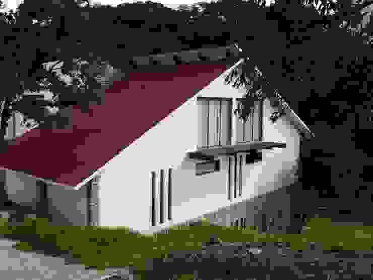 Estilo Ingles Campirano Casas rústicas de CESAR MONCADA SALAZAR (L2M ARQUITECTOS S DE RL DE CV) Rústico