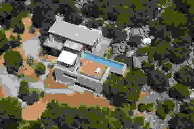 Rumah Gaya Mediteran Oleh Vezzoni Associés Mediteran