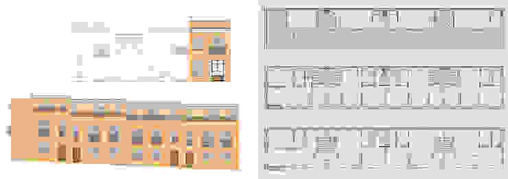 Rehabilitación de edificio plurifamiliar Casas de estilo clásico de jjdelgado arquitectura Clásico