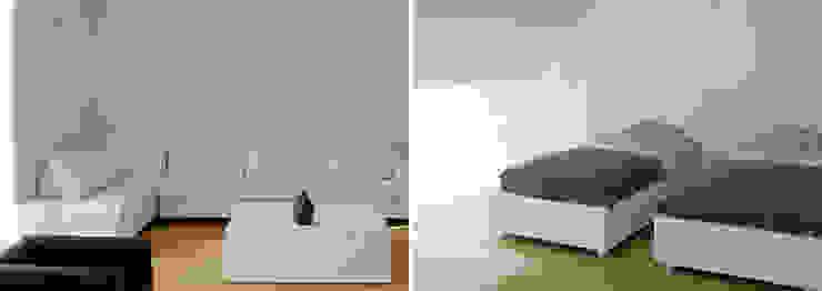 Rehabilitación de vivienda unifamiliar Casas de estilo moderno de jjdelgado arquitectura Moderno