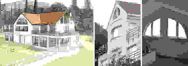 Vivienda unifamiliar con jardín Casas de estilo moderno de jjdelgado arquitectura Moderno