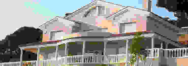 Vivienda unifamiliar Casas de estilo mediterráneo de jjdelgado arquitectura Mediterráneo