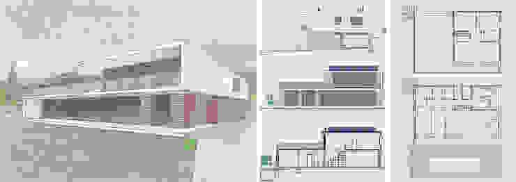 Vivienda unifamiliar energéticamente autosuficiente Casas de estilo mediterráneo de jjdelgado arquitectura Mediterráneo