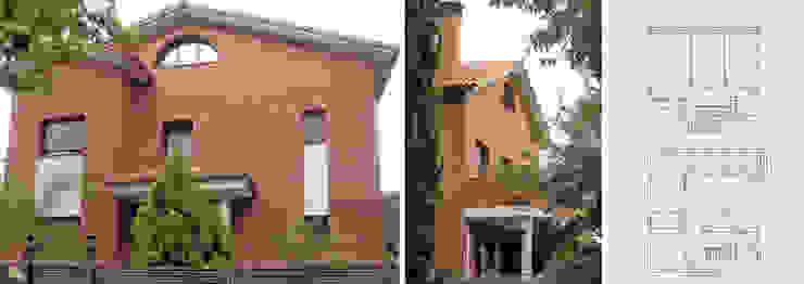 Vivienda unifamiliar aislada con jardín Casas de estilo mediterráneo de jjdelgado arquitectura Mediterráneo